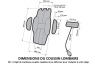 COUSSIN LOMBAIRE VOITURE V5