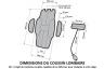 COUSSIN D'ASSISE V3 Confort+