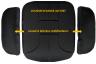 Coussins latéraux stabilisateurs pour coussin d'assise